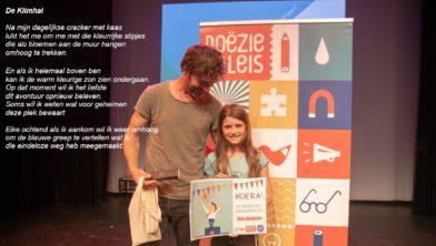 Elin Koot de nieuwe Kinderdichter van Groningen
