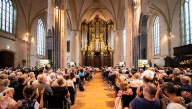 Het slotconcert van 'Schnitger Meets...' trok vierhonderd bezoekers.