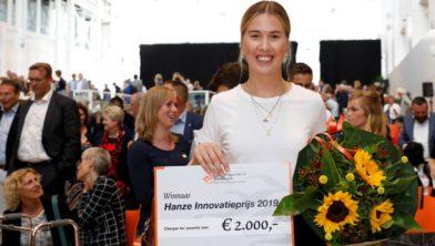 Prijswinnaar studente Levke Sydow.