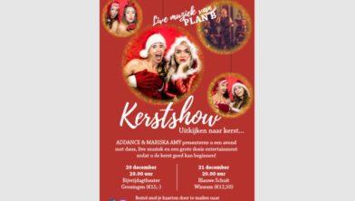 Kerstshow Groningen en Winsum.