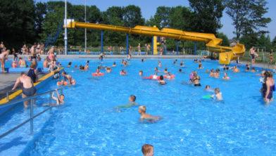 Archieffoto van zwembad De Blinkerd.