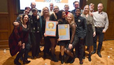 Winnaars Vrijwilligersprijs 2019.