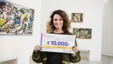 Leontine Ruiters is ambassadeur van de BankGiro Loterij.