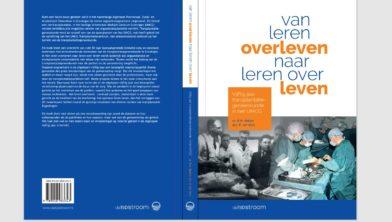 Omslag van het boek 'Van leren overleven naar leren over leven'.