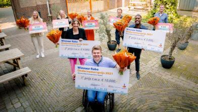 Winnaars Rabo Ondernemersprijs 2021.