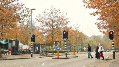 Oversteekplaats Julianapark (Cronjéstraat).