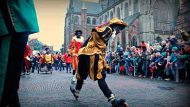 Stuntpiet in Haarlem.