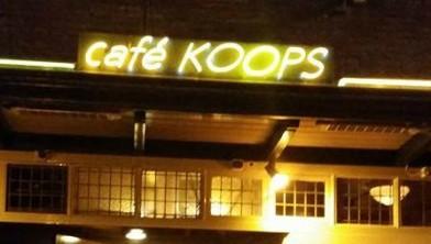 Café Koops, altijd goed voor een plek in de top 100.