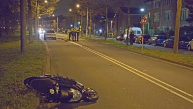 De scooter op de Vondelweg