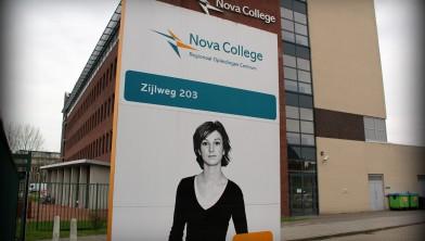Het Nova College aan de Zijlweg.
