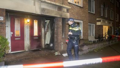 Grote schade in de Slachthuisstraat.