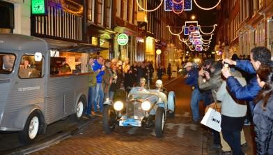 Een van de oldtimers in Amsterdam.