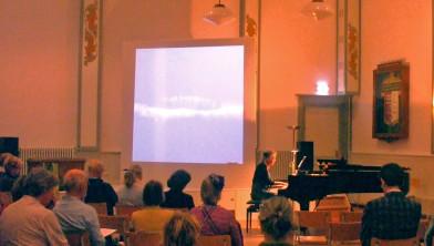 Recital van Arda Friederichs in oktober 2015 in Gebouw Zang en Vriendschap.