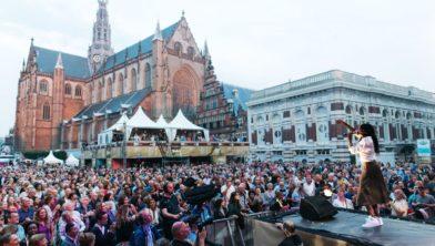 Volle bak tijdens Haarlem Jazz in 2015.