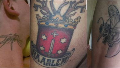 Dit zijn geen tattoo s van Roxanne of Nova Art Tattoo Studio.