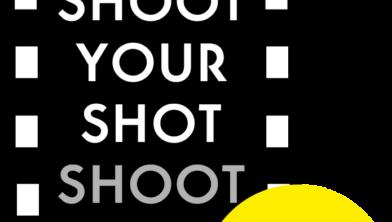 Logo van shoot your shot.