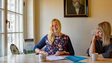 Mirjam Hildebrand tekent bij uitgeverij Kluitman.