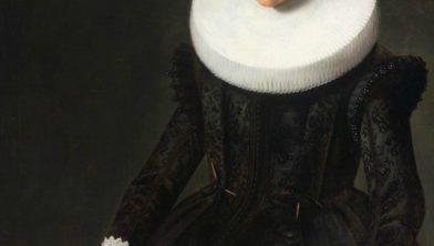 Frans Pietersz de Grebber, Portret van een 25-jarige vrouw, 1632.