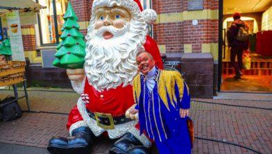 Bekende kerstgezichten in Haarlem.
