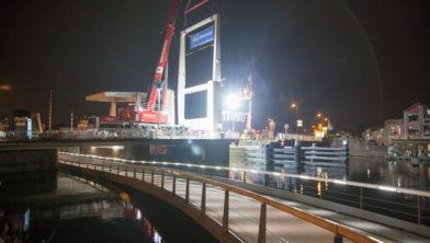 Een van de nieuwe Buitenrustbruggen.