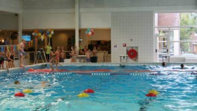 Eerst zwemmen in De Planeet, daarna hardlopen.