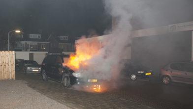 Vuur onder de motorkap.