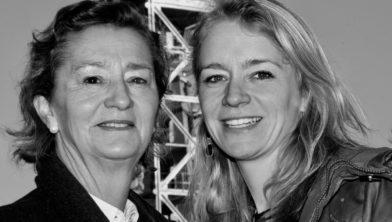 Johanna en Pauline Wielens.