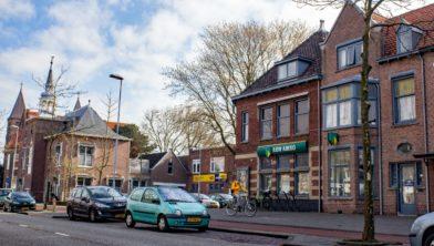 De bank aan de Rijksstraatweg.