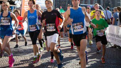 Start en finish op de Grote Markt.