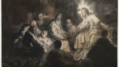 Werk van Rembrandt.