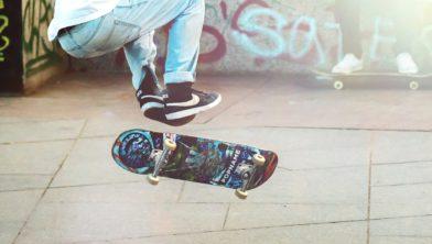 Skateboarder.