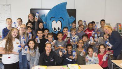 Succesvolle watercampagne op school.