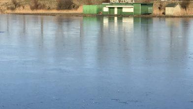 Eindelijk weer ijs bij Nova Zembla.