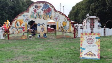 Circus in het Zaanenbos.