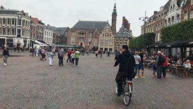 Grote Markt in Haarlem.