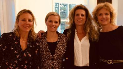 v.l.n.r.: Caroline Abrahams, Eleonora van IJssel, Meta Herman de Groot en Mariette Reineke
