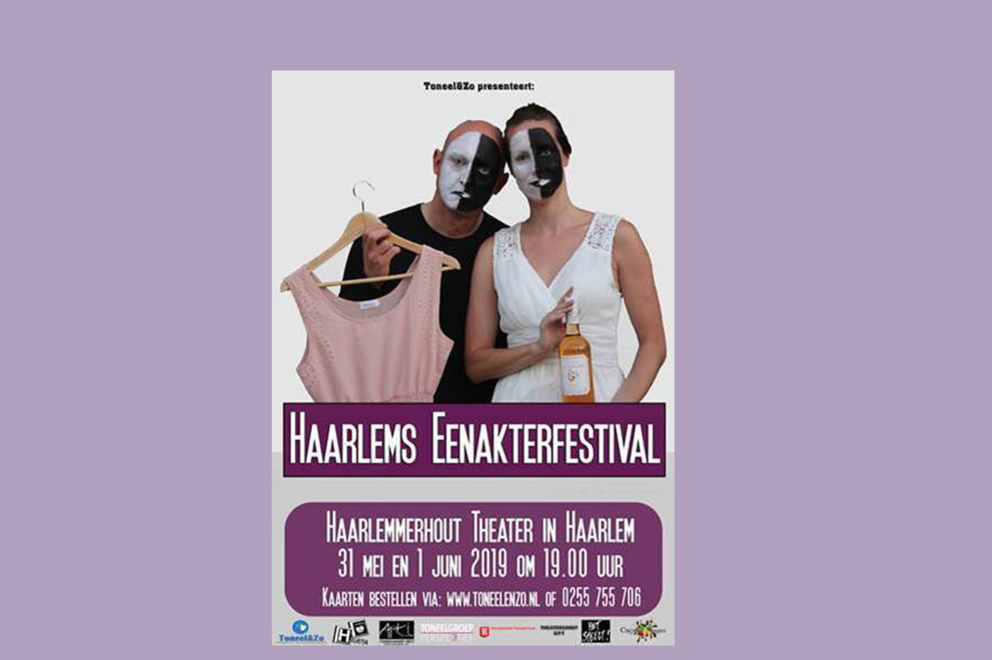 Haarlems Eenakterfestival In Het Haarlemmerhout Theater