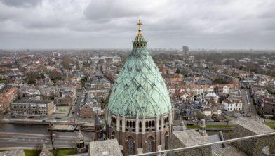 Koepelkathedraal, een van de letterlijke hoogtepunten van Open Monumentendag in Haarlem