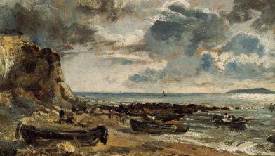 John Constable, De baai van Weymouth