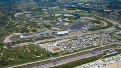 Circuitfoto van voor de aanpassingen voor de Dutch Grand Prix