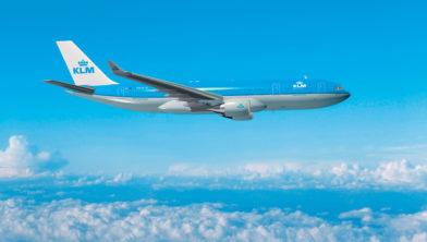 Airbus van KLM.