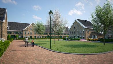 Zuiderhoven, geplande nieuwbouwwijk langs de Bennebroekerweg in Hoofddorp Zuid