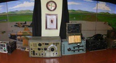 Beeld van de radiokamer