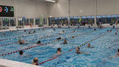 Volop waterpret en -prestaties tijdens Zwem4daagse