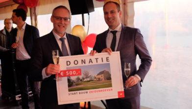 Donatie ten gunste van project dat sociale cohesie bevordert