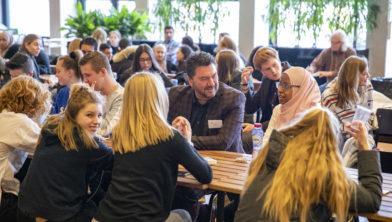 Haarlem - Nova College Dag van het Leerrecht aan de Zijlweg in Haarlem