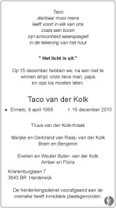 Taco van der Kolk Mensenlinq