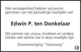 Edwin P. ten Donkelaar
