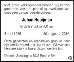 Johan Hooijman 2