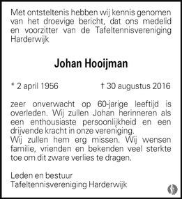 Johan Hooijman